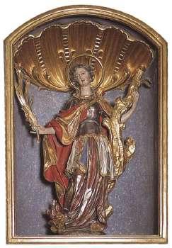 St. Afra Patronin